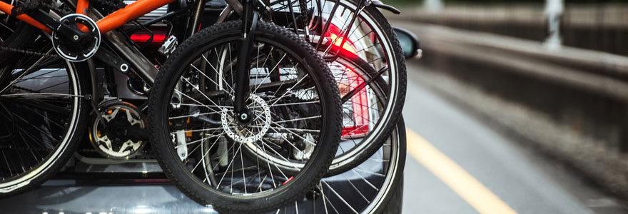 Porte-vélos attelage